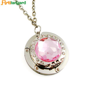Promotion Pink Rhinestone Purse Hanger pictures & photos