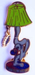 Zinc Die Cast & Love Glitter Light Pin Mj -1001 P057 pictures & photos