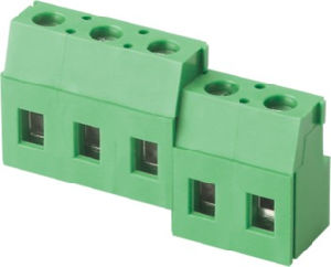 UL VDE Approved PCB Screw Rising Clamp Terminal Block (WJ129R-7.5) pictures & photos