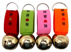 Cowbell Felt Strap with Golden Pins as Souvenirs pictures & photos