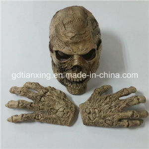 New Style Zombie Halloween Mask Horror Collectors Wearable Skull Mask pictures & photos