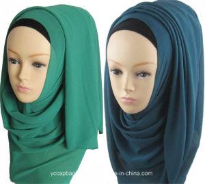 Chiffon Wholesale Fashion Muslim Hijab Scarf pictures & photos