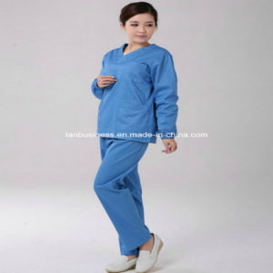 Ly Scrub Top and Pants Set Medical Uniform (LY-MU004) pictures & photos