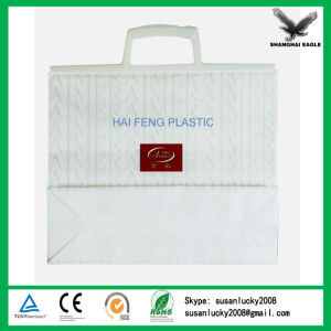 Die Cut HDPE Plastic Bag for Clothes pictures & photos