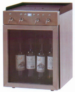 China 4 Bottles Red Wine Cooler/Wine Cellar/Wine Dispenser/Wine ...
