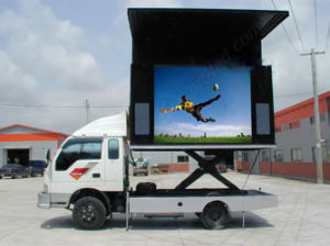 Full Color Outdoor LED Moving Sign for Track Mounting pictures & photos