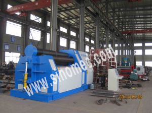 Sheet Metal 4 Rollers Bending Machine W12-20X4000 pictures & photos