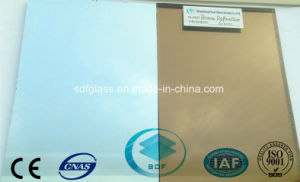 Bronze Reflective Glass with CE, ISO (4 TO 10mm)