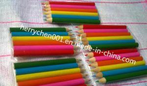 Half Size Color Pencil (SKY-025) pictures & photos