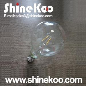 Glass G95 6W LED Filament Bulb (SUN-6WG95) pictures & photos