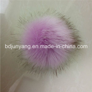 High Quality Faux Fox Fur POM Key Ring for Women pictures & photos