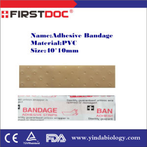 High Quality First Aid Adhesive Bandage, 40*10mm, PVC pictures & photos