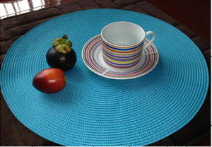 Knitted Placemat 100%PP Size 38cm pictures & photos