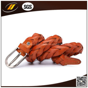 Women Braid Leather Belts for Dress pictures & photos