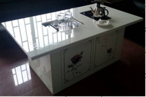 Nano Glass Kungfu Tea Table pictures & photos