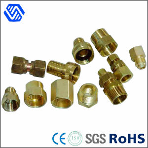 Precision Brass Nut Lather Turning Part Round Insert Nut pictures & photos