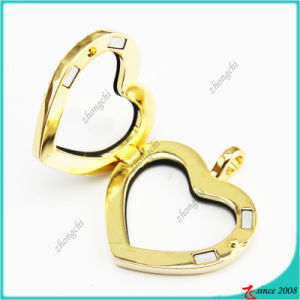 Gold Crystal Heart Magnet Lockets Jewelry pictures & photos