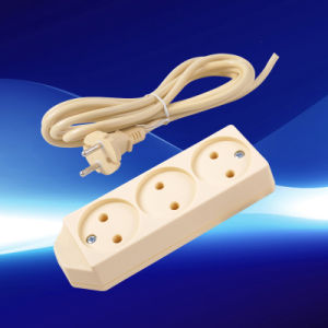 Small 3 Gang Extension Socket European Style (YW5023-A)