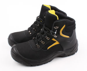 Nubuck Leather Good Quality Safety Boot (SN5182) pictures & photos