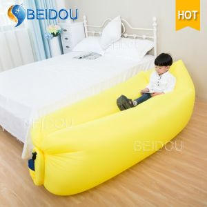 Hot Sale Nylon Single Mouth Hangout Lazy Bag Laybag Hammock Inflatable Sleeping Bag pictures & photos