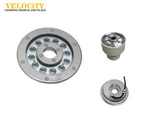 High Brightness 316 Stainless Steel IP68 LED Underwater Fountain Light pictures & photos