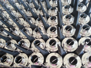 Sanitary Stainless Steel Rjt Weld Butterfly Valve pictures & photos