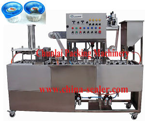 2015 High Quality Linear Type Tray Sealing Machine pictures & photos
