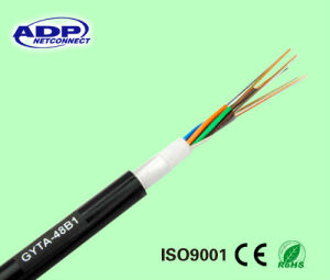 Hot Sell GYTA Outdoor Sm 9/125 Armored Fiber Optic Cable pictures & photos