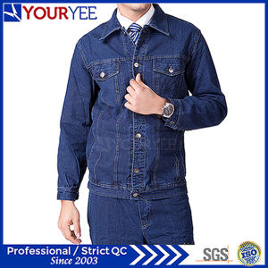 Affordable Workwear Jeans High Quality Uniform Suit (YMU123) pictures & photos