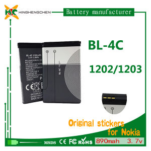 890mAh 3.7V Cellphone Battery Mobile Battery for Nokia Bl-4c 1202 1203 1265 pictures & photos