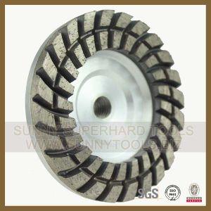 Double Row Diamond Grinding Abrasive Cup Wheel for Concrete pictures & photos