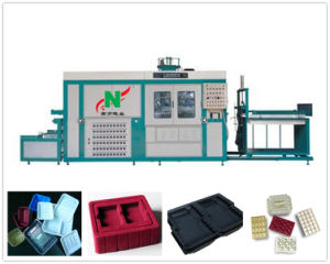 2016 High Speed Automatic Plastic Vacuum Thermoforming Machine for PS /Pet/ PVC /PP/PE Material pictures & photos