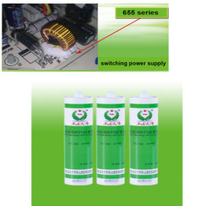 One Component RTV Liquid Silicon Rubber for Sealing Electronics and Inflaming Retarding Adhesive pictures & photos