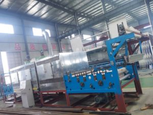 Fish Nettting Making Machine - Mesh Slice Longitudinal Figuration Machine pictures & photos