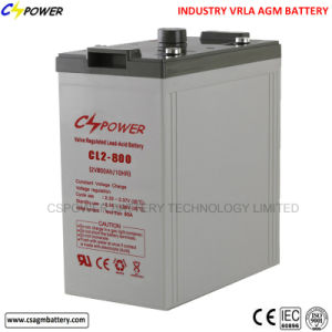 Solar Panel/Maintenance Free/ VRLA /AGM Battery 2V800ah pictures & photos