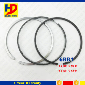 6rb1 Diesel Engine Piston Ring Kit for Isuzu Parts (1-12121-076-0 1-12121-073-0) pictures & photos