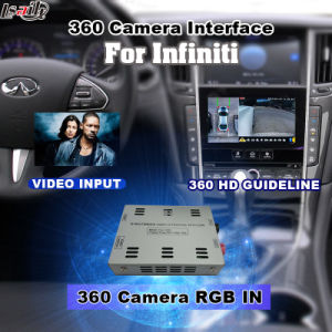 Rear View & 360 Panorama Interface for 2014 or Later Infiniti Q50 Q60 with Infiniti Multimedia System Lvds RGB Signal Input Cast Screen pictures & photos