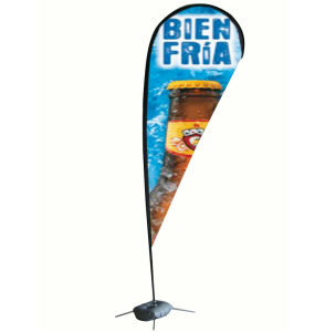 Polyester Beach Teardrop Flag Banner Stand pictures & photos