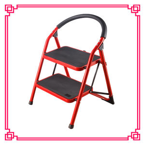 Marine Stainless Steel Step Ladder /Steel Folding Step Ladder pictures & photos