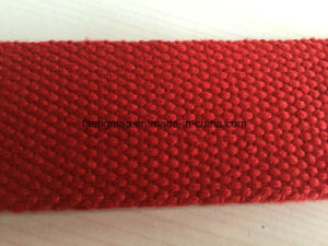 Red Cotton Military Webbing pictures & photos