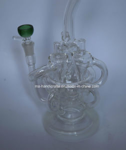 12 Inch Glass Recycler Bubbler Smoking Glass Water Pipes Oil DAB Rigs pictures & photos