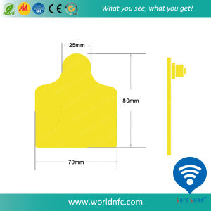 RFID UHF Animal Ear Tag pictures & photos