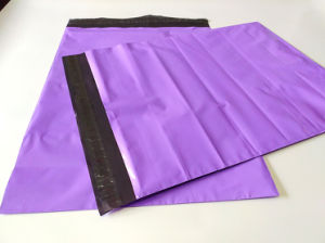 Custom Plastic Purple Mail Envelope Bag pictures & photos