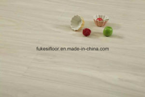 Big U Groove Mould Pressedhigh Glossy Surface Laminate Flooring pictures & photos