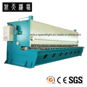 QC12Y-6X3200 E21S Hydraulic Swing Beam Shearing and Cutting Machine pictures & photos