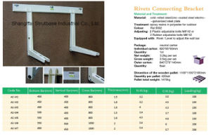 Air Conditioner Bracket / Wall Bracket / Rivet Connected pictures & photos