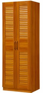Two Doors Durable Wardrobe High Quality Bedroom Wardrobe pictures & photos