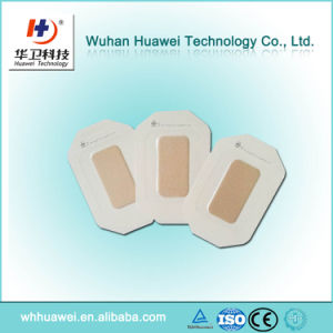 Medical Adhesive Wound Healing Surgical Plaster PU Film Wound Dressing pictures & photos