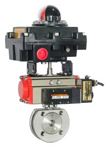 Pneumatic Actuators with DIN337. Vd/VDE3845 & Namur Standard pictures & photos