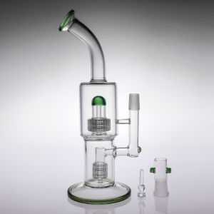 Matrix Smoking Water Pipe Birdcage Perc Glass Pipe Oil Rig pictures & photos